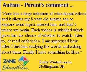 educational videos for autistic students